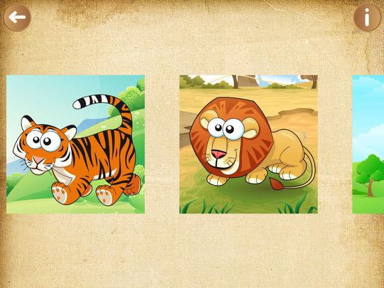 jeux pour enfants animaux puzzle jeu pour filles dans l app store. Black Bedroom Furniture Sets. Home Design Ideas