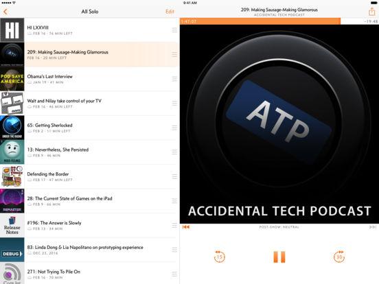 Overcast: Podcast Player Capture d'écran