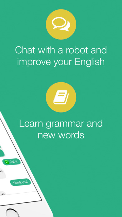 Andy - English Chat, Learn and Practice English Screenshot