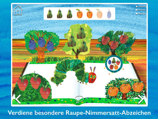 Die kleine Raupe Nimmersatt ~ Spiele & entdecke! Screenshot
