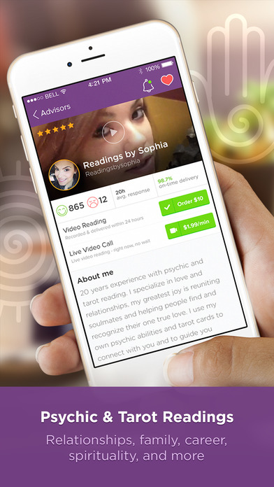 download Purple Ocean Psychic Readings appstore review