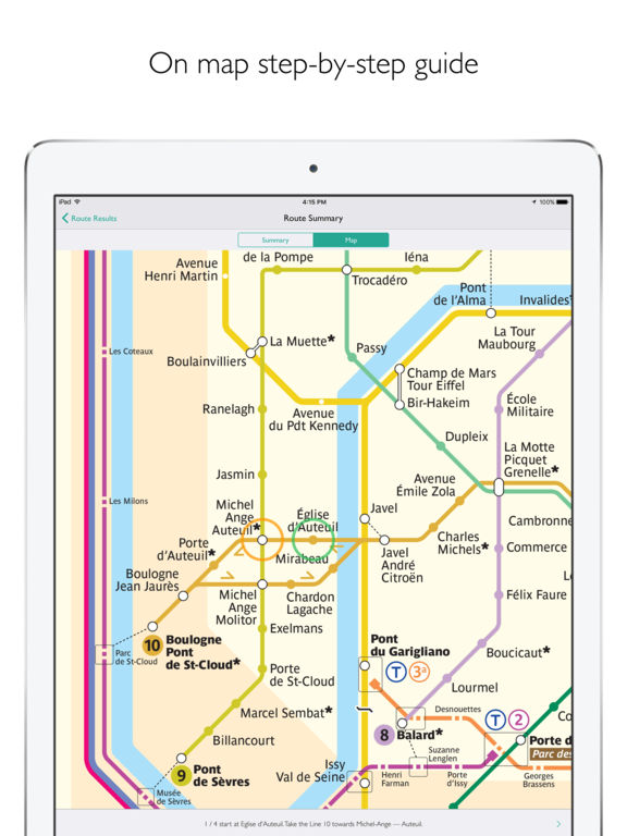 Paris Metro Map Departures and route planner on the App Store – French Tube Map