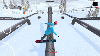 Just Snowboarding iOS Screenshots