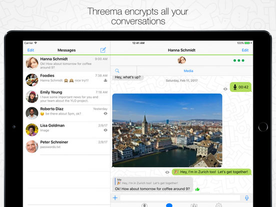 Threema Screenshots