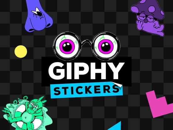 GIPHY Stickers. The Animated Sticker & Emoji App Screenshot