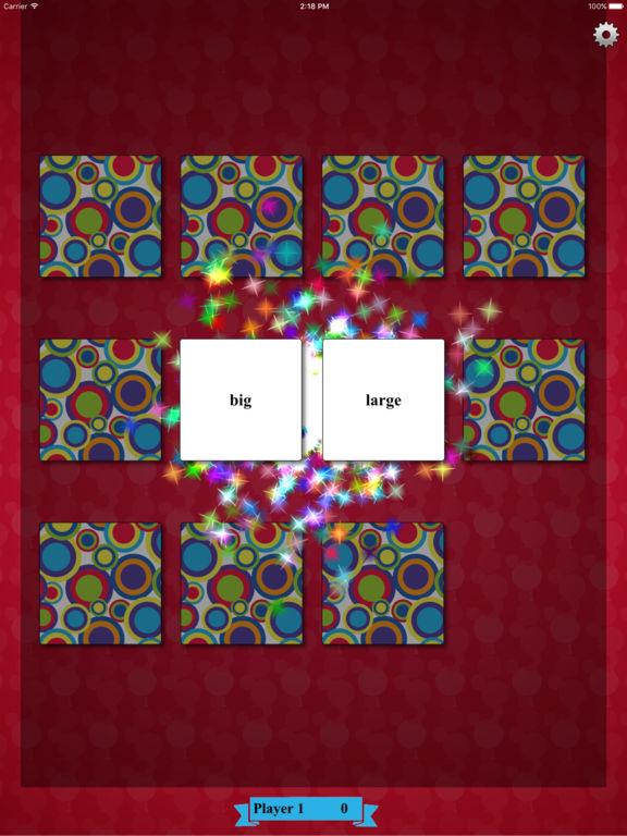 Synonym Match Screenshots