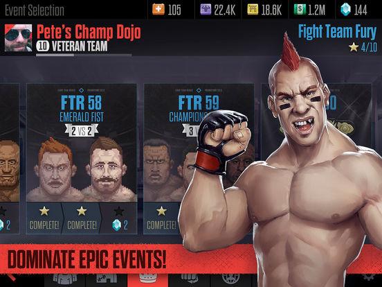 Fight Team Rivals - Be An MMA Manager Screenshot