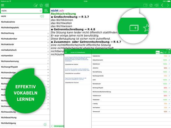 Wörterbuch Deutsche Rechtschreibung von PONS Screenshots