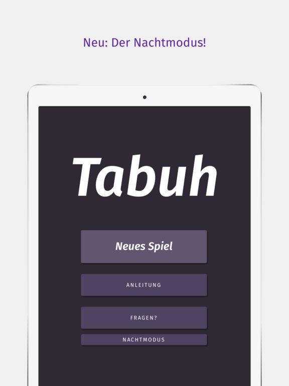Tabuh — Tabu für iOS Screenshot