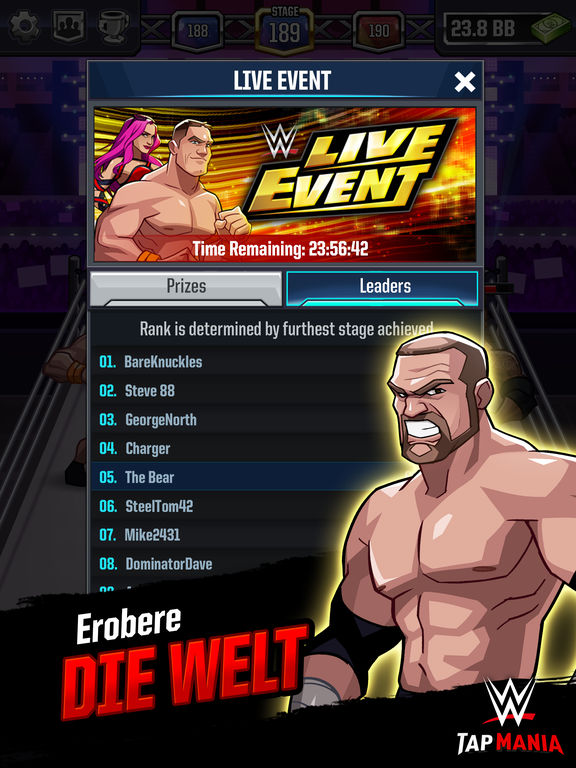 Screenshot 5 WWE Tap Mania
