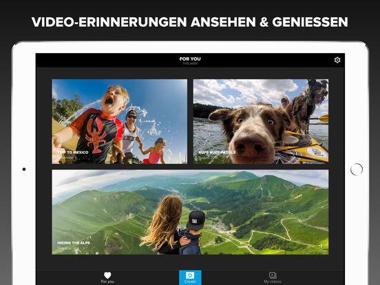 Quik - GoPro Video-Editor - Fotos mit Musik Screenshot