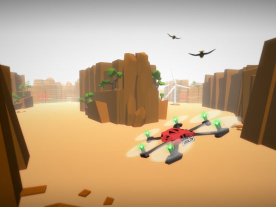 Screenshot 2 Drone Racer : Canyons
