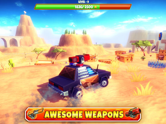 Screenshot 4 Zombie Safari