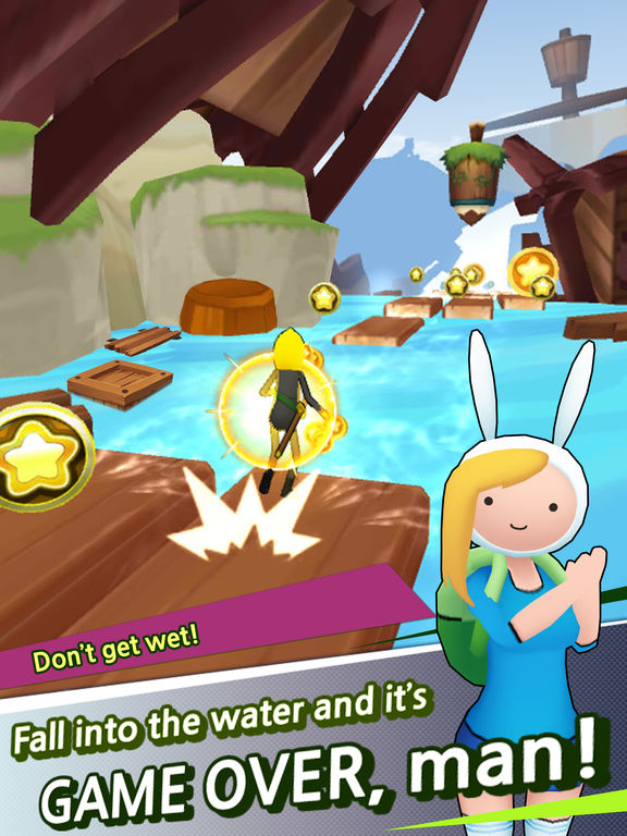 Screenshot 4 Adventure Time Run