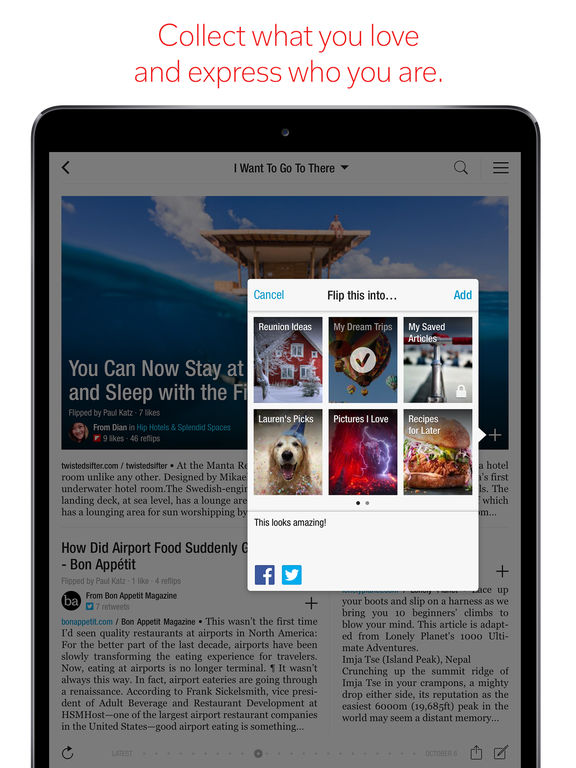 Flipboard: News For Every Passion Screenshot