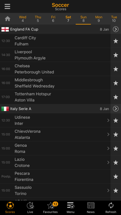 download livescore app