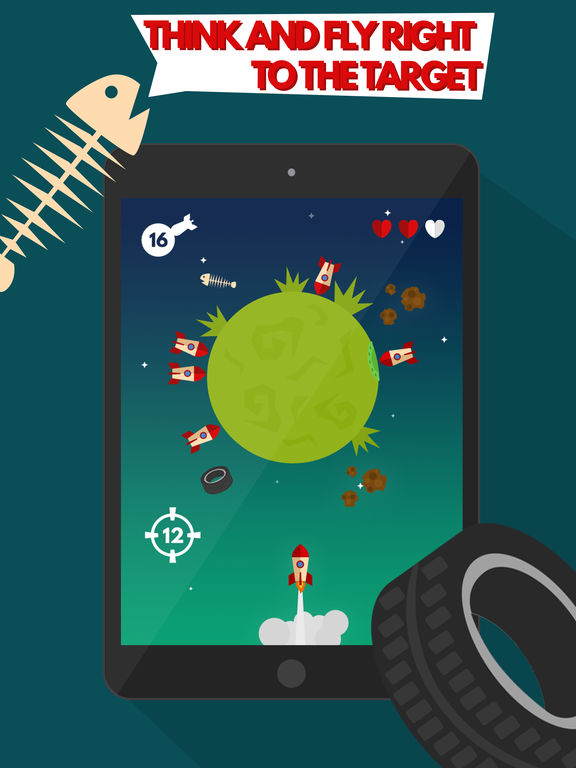 Space Settlers: Spinning wheel iOS