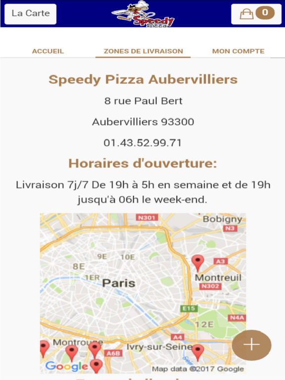 speedy pizza aubervilliers by sarl des click. Black Bedroom Furniture Sets. Home Design Ideas