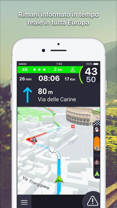 Coyote : Autovelox, GPS navigazione e traffico Screenshot