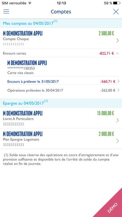 Banque populaire dans l app store - Cheque cado banque populaire ...