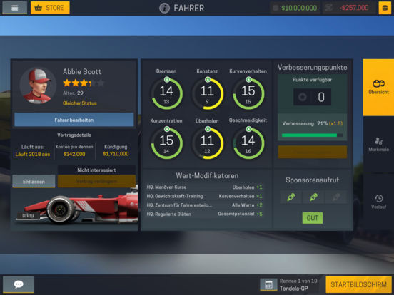 Screenshot 5 Motorsport Manager Mobile 2
