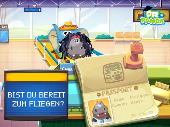 Dr. Panda Flughafen Screenshot