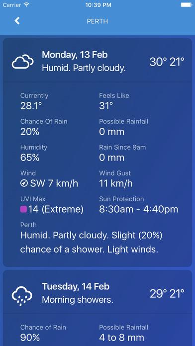 download AUS Rain Radar - Bom radar and weather forecast apps 1