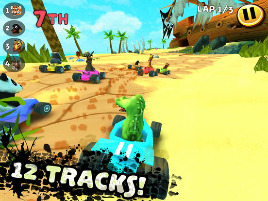 Screenshot 1 Safari Kart