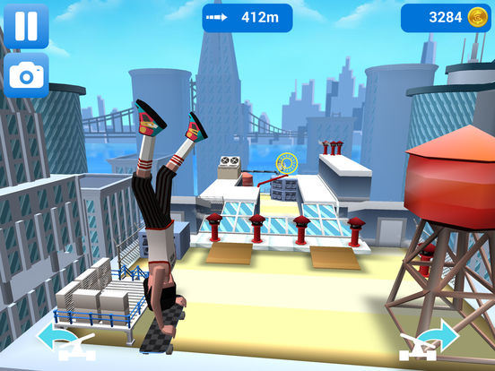 Screenshot 1 Faily Skater