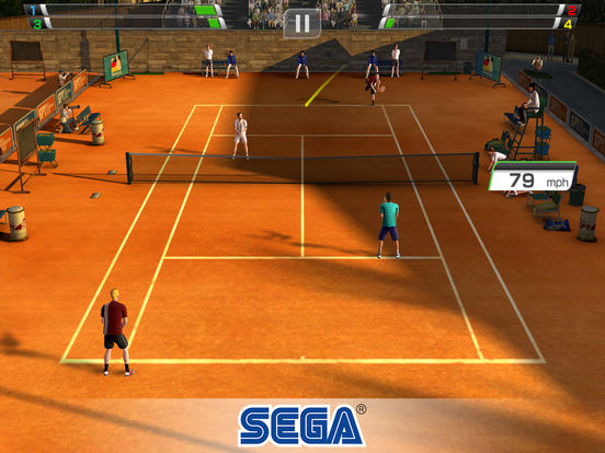 Screenshot 3 Virtua Tennis Challenge