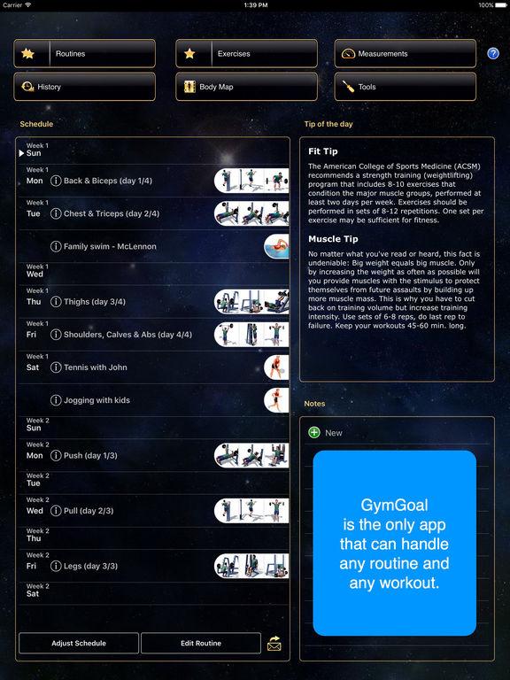 GymGoal Pro Screenshot