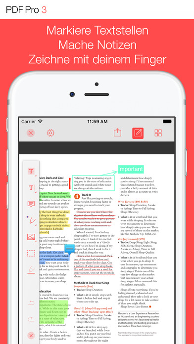 PDF Pro 3 – Die ultimative PDF App Screenshot