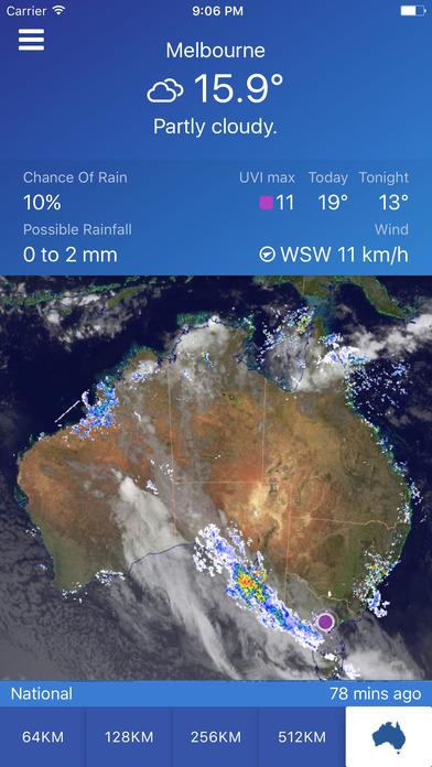 download AUS Rain Radar - Bom radar and weather forecast apps 3
