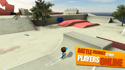 Screenshot 1 Stickman Skate Battle