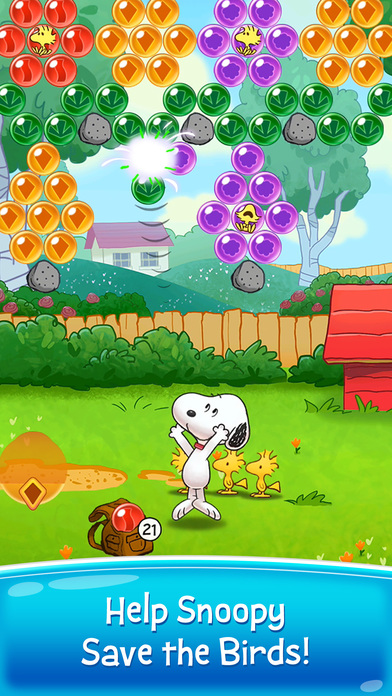 Screenshot 1 Snoopy Pop