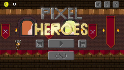 Pixel Heroes - Endless Arcade Runner iOS Screenshots