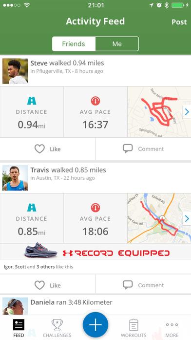 MapMyHike – GPS-Tracker: Wandern mit Routen Screenshot
