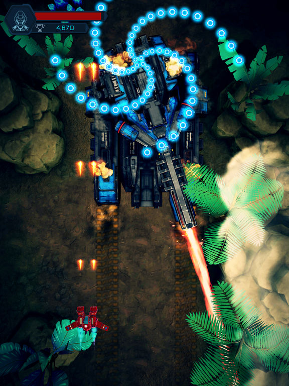 Screenshot 1 Galactic Attack: Alien