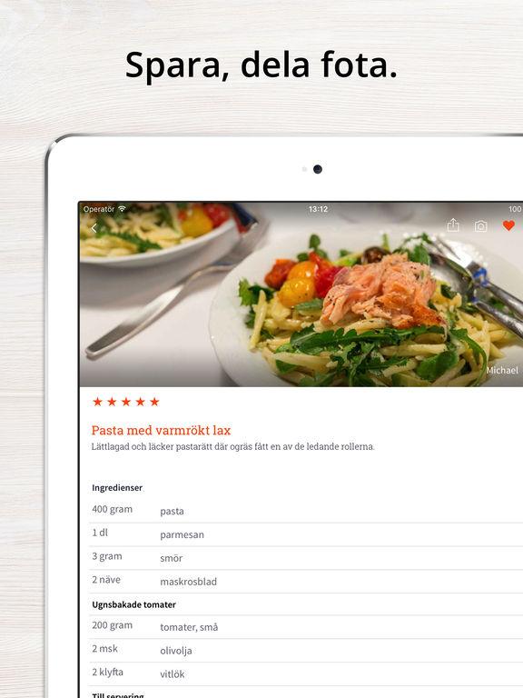 inköpslista mat app