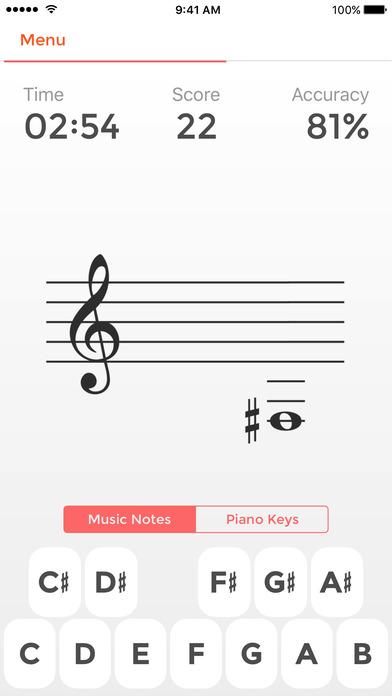 Screenshot Professeur de musique +