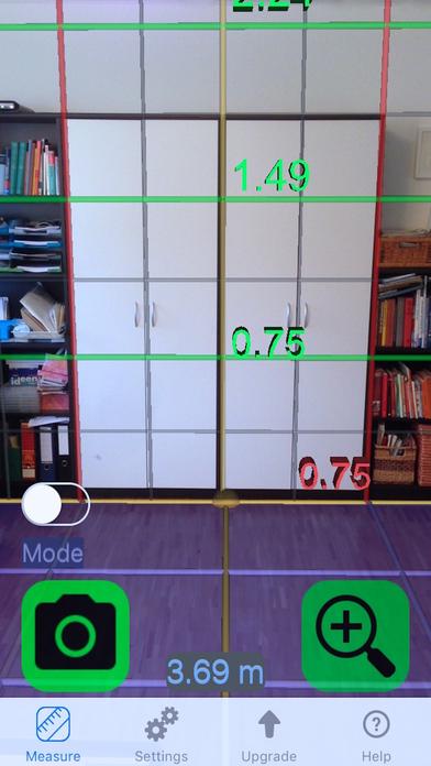 Tape Measure Camera Ruler 3D Screenshot