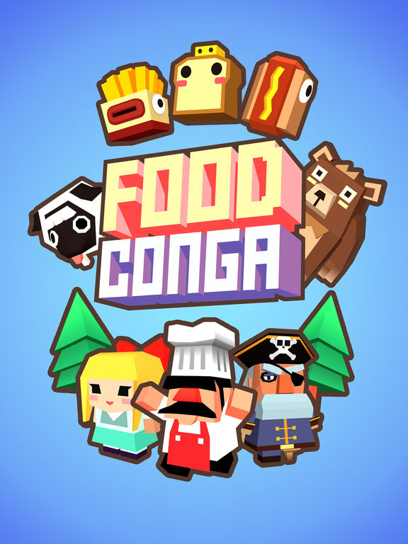 Screenshot 5 Food Conga