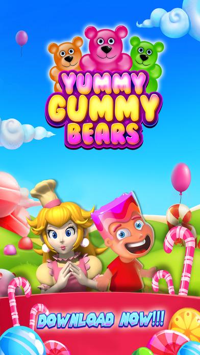 Gummy Mania - Match 3 Magic Candy Drop Treats Blaster Blitz