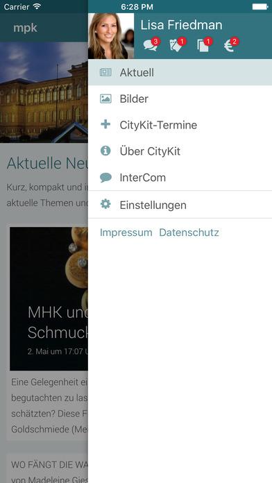 mpk - Museum Pfalzgalerie Screenshot