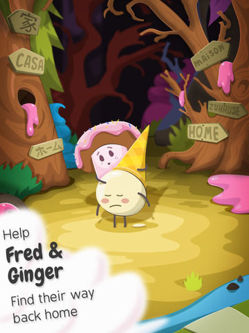 Sugar Slide: The Path Home iOS Screenshots