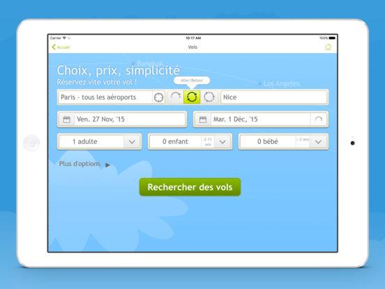 Appli govoyages billets d 39 avion hotels location de for Site pour hotels pas cher