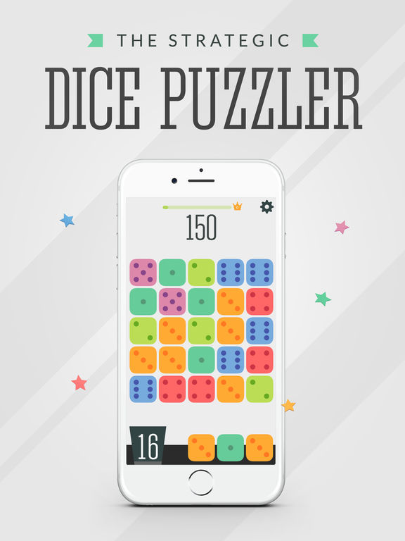 Dizy - The Vera&John Dice Puzzler Screenshot