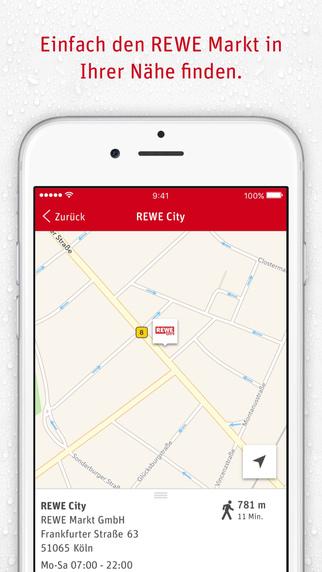 REWE Lebensmittel – Lieferservice, Angebote, Filialsuche und Rezepte Screenshot