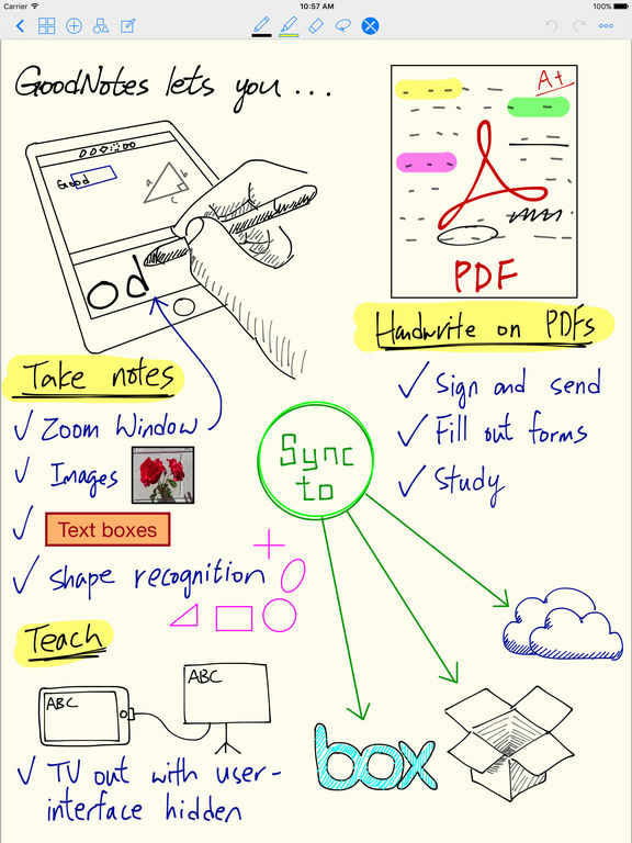GoodNotes 4 - Notizen & PDF Screenshot