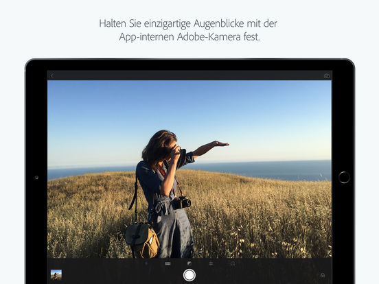Adobe Photoshop Lightroom for iPad - Fotos Bearbeiten, Organisieren und Teilen Screenshot